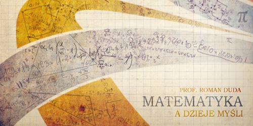 Matematyka a dzieje myśli